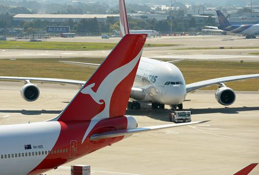Qantas says there has been a