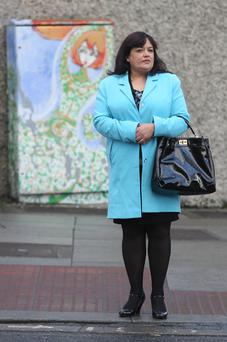 6/12/2013 Bernadette Poleon, of Kilbreena Estate, Dunboyne, Co. Meath, leaving court yesterday(Fri) after she was awarded €6,000 damages following a Circuit Civil Court action.Pic: Collins Courts