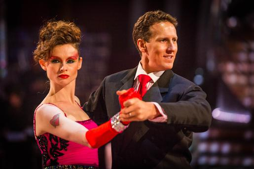 Brendan Cole and Sophie Ellis-Bextor: Guy Levy/BBC/PA Wire
