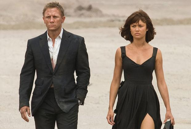 Mince spies: Daniel Craig and Olga Kurylenko in Quantum of Solace