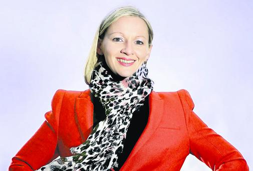 Fine Gael TD Lucinda Creighton, who described the Dail as 'parochial and macho'