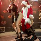 Recording artist Miley Cyrus performs onstage during KIIS FM's Jingle Ball 2013 . (Photo by Christopher Polk/Getty Images for Clear Channel)