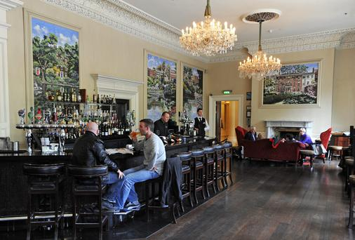 The 27 bar at the Shelbourne hotel. Photo: Dave Meehan