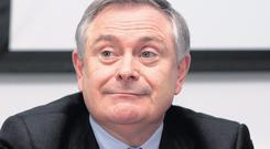 Brendan Howlin,TD, the Minister for Public expenditure. Photo: Tom Burke