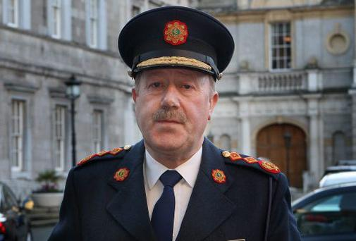 Garda Commissioner Martin Callinan. Photo: Tom Burke 21/11/12