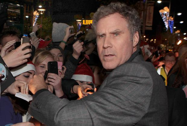 Actor Will Ferrel at The Irish Premiere of Anchorman 2 : The Legend Continues at The Savoy Cinema Dublin Pictures Brian McEvoy