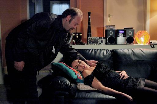 Yvonne is the victim of a vicious attack on tonight's episode of Fair City.