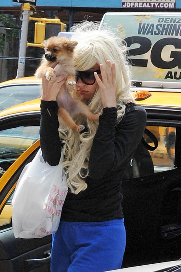 Amanda Bynes as seen on July 10, 2013 in New York City. (Photo by NCP/Star Max/FilmMagic)