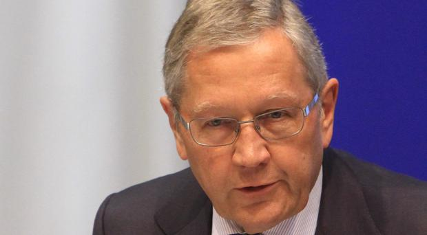 Klaus Regling, German economist and Managing Director of the European Stability Mechanism (ESM)