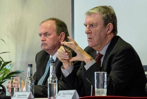 Liam O'Neill and Eugene McGee