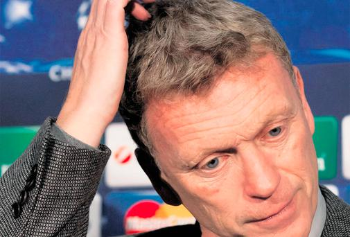 David Moyes is feeling the heat at Old Trafford at the moment