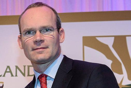 Minister for Agriculture Simon Coveney at the Horse Racing Ireland Award