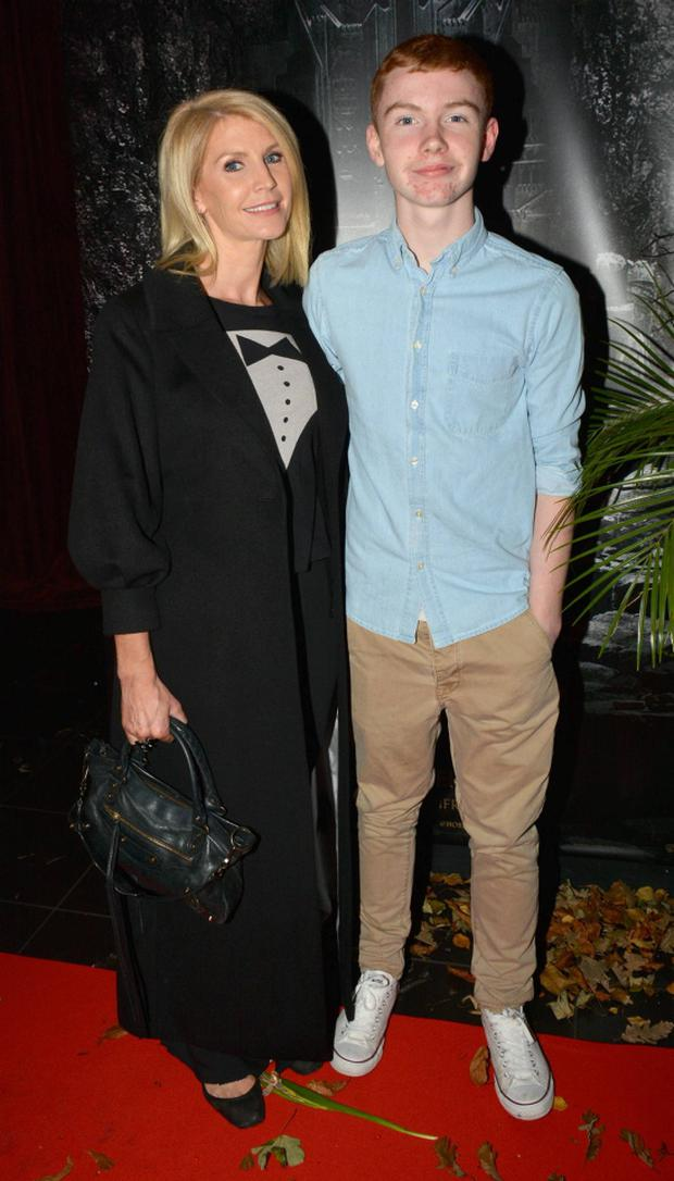 Yvonne Keating & son Jack Keating