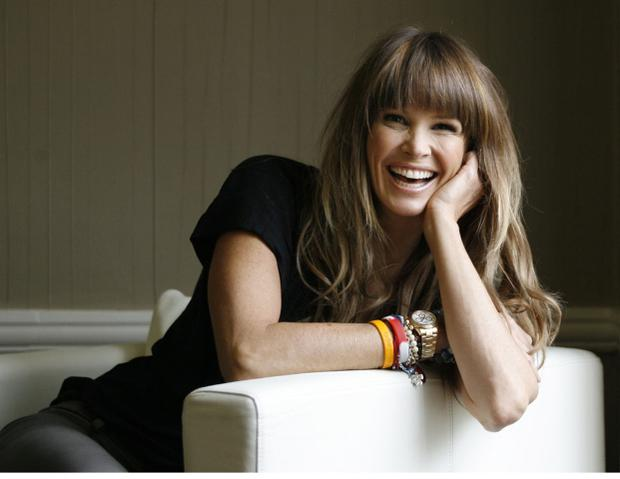 Supermodel Elle Macpherson: it is claimed she took part in a crash 'conspiracy'
