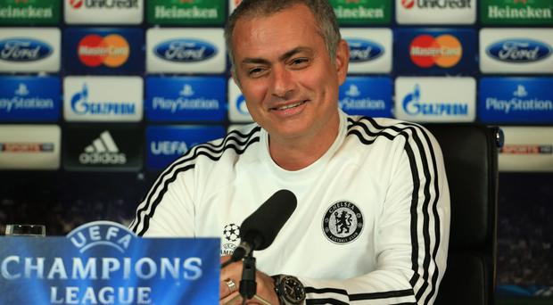 Mourinho saw the funny side of his team's lacklustre performance