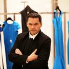 11/12/13 World renowned French fashion designer, Roland Mouret pictured in Brown Thomas, Dublin where he launched his Spring Summer 2014 collections...Picture Colin Keegan, Collins Dublin.