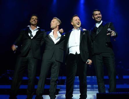 Boyzone performed in Dublin last month at the O2.
