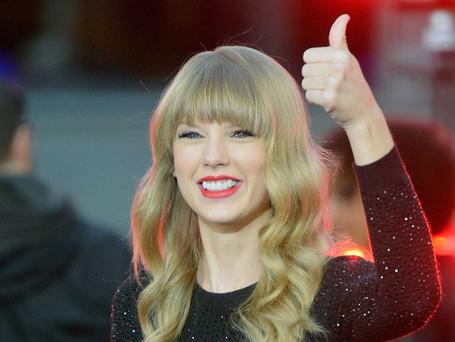 Taylor Swift is used to winning things - all of them in fact. But she's number three on the Forbes list this year with earnings of $55m. She's 24.