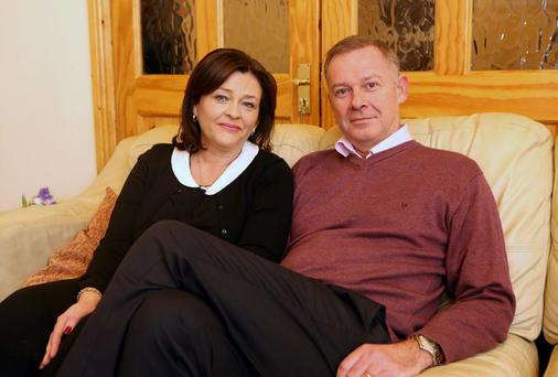 Paul and Aideen Costigan called for an inquiry. Photo: Arthur Carron