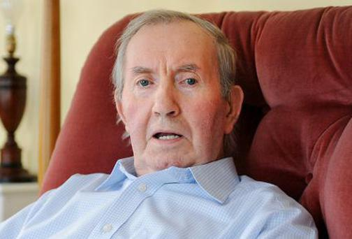 James Gray, 85. Picture: The Irish Post/Malcolm McNally