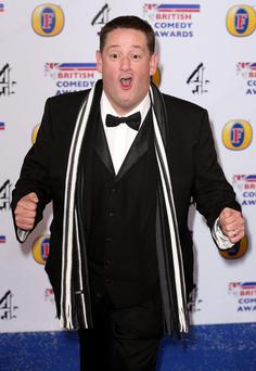 Johnny Vegas attends the British Comedy Awards