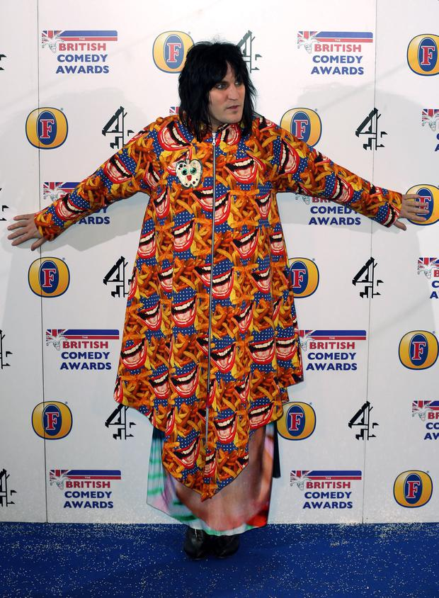 Noel Fielding attends the British Comedy Awards