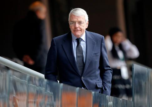 John Major - the grey man survived it all