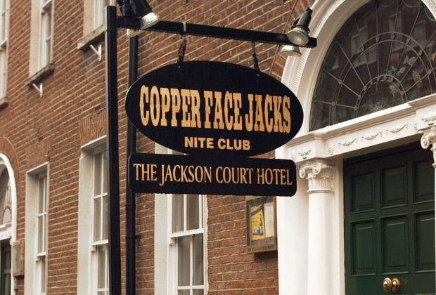 Copperface Jacks night Club, Harcourt St where the incident allegedly occurred