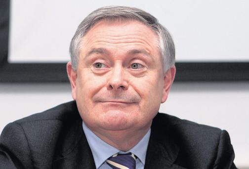 Brendan Howlin,TD the Minister for Public expenditure