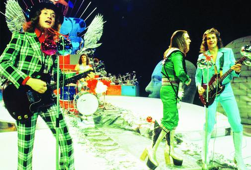 Christmas classics: Slade help provide the predictable soundtrack to every festive season