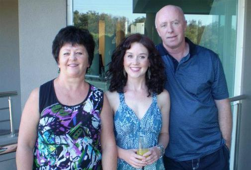 George McKeon with his wife Edith and their late daughter Jill Meagher.