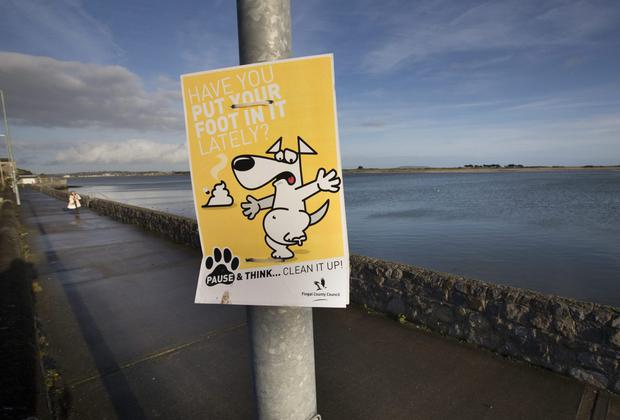 Audio devices that used to be in lamppost that lead to an 80 percent drop in dog fouling in Baldoyle Pic:Mark Condren 13.12.2013