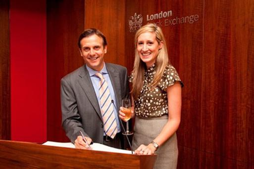 Christian Brown, Group Chief Operating Officer and Elizabeth Rous, Group Head of Communications of Kentz