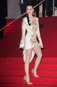 The 29-year-old singer suffered a miming mishap while performing at the NRJ Music Awards in Cannes on Saturday.
