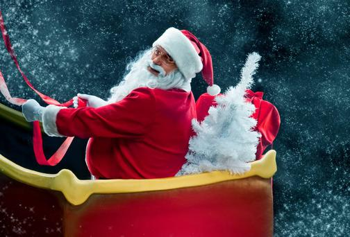 Santa Claus: jolly invention by a German immigrant to US