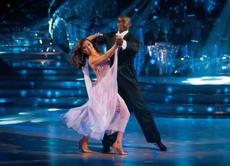 The Casualty actor and his dance partner Anya Garnis faced Sunday's dance off for the third time.