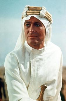 Actor Peter O'Toole as Lawrence of Arabia 1968 (Photo by Rolls Press/Popperfoto/Getty Images)