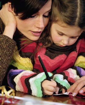 Don't overdo the treats or presents for your children to try to make up for the separation.