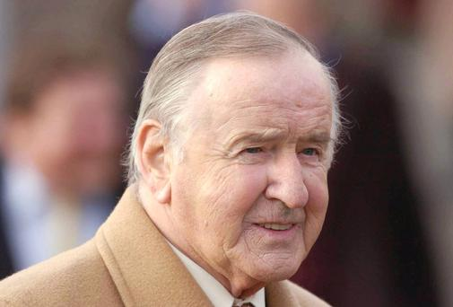 Former Taoiseach Albert Reynolds. Photo: Sportsfile
