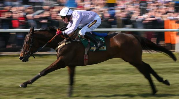 Paul Carberry rides Solwhit to victory