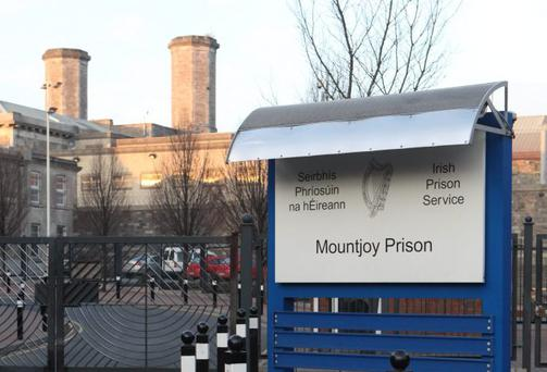 The woman was released from Mountjoy Prison, Dublin, yesterday