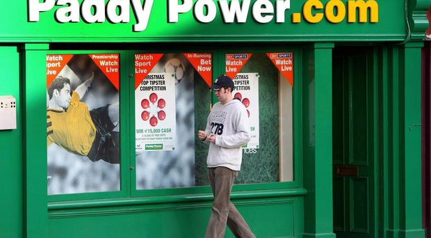 Paddy Power's revenues for the year to the end of December rose to €745m. Photo: Julien Behal/PA Wire