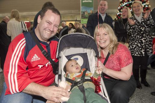 For six agonising days Frank and Michelle O'Mahony feared for their adopted child.