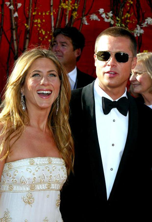 jennifer aniston and brad pitt marriage photos