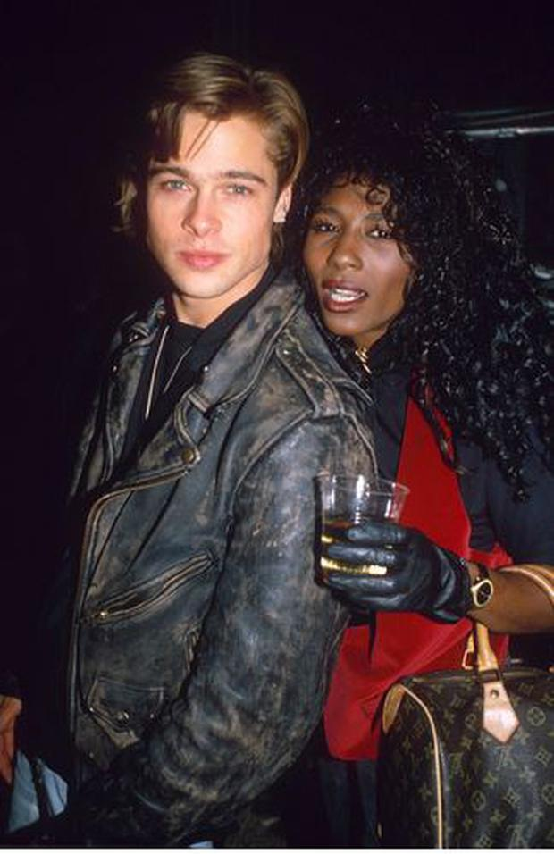 Brad Pitt and Sinitta dated for two years in the late 80s.
