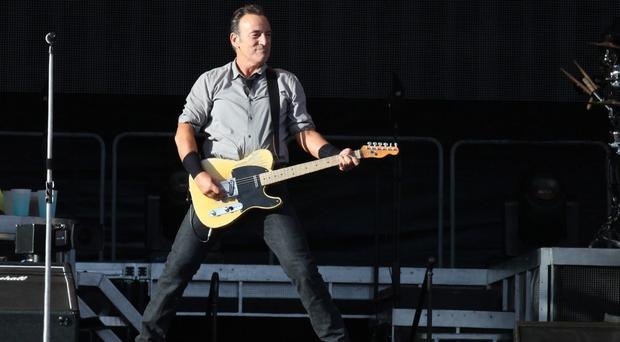 Bruce Springsteen at Nowlan Park, Kilkenny, July 28, 2013
