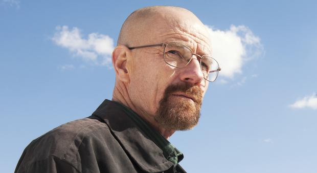 Bryan Cranston as Walter White in 'Breaking Bad'.