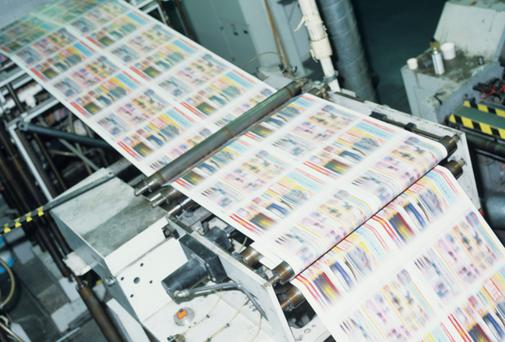 Johnston Press is expected to fetch €8.5m for papers it bought for €300m