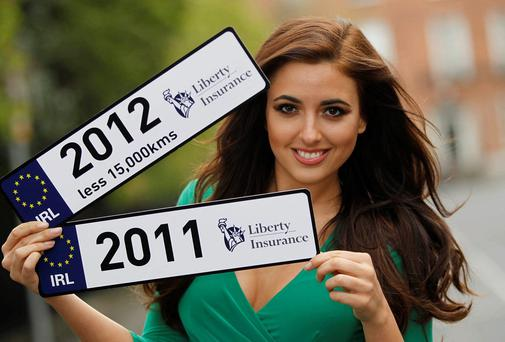 Model Nadia Forde at the launch of Liberty Insurances Better Car Replacement