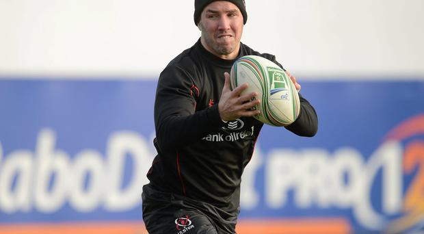 Ulster veteran Paddy Wallace will face Zebre